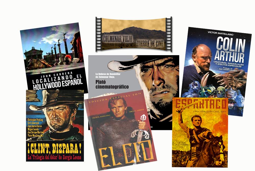 libros Colmenar Viejo Tierra de cine