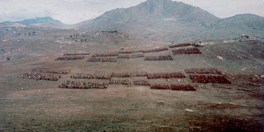 El impresionante rodaje de Espartaco de Stanley Kubrick en Colmenar Viejo