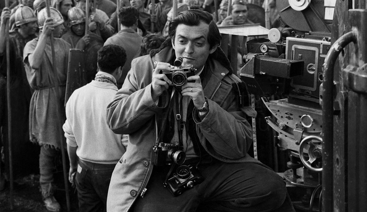 Stanley Kubrick rodado Espartaco