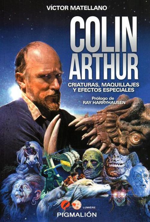 Colin Arthur. Criaturas, maquillajes y efectos especiales.