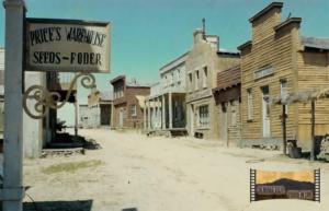 El poblado city dle oeste de Lega-Michelena en al Dehesa de Navalvillar