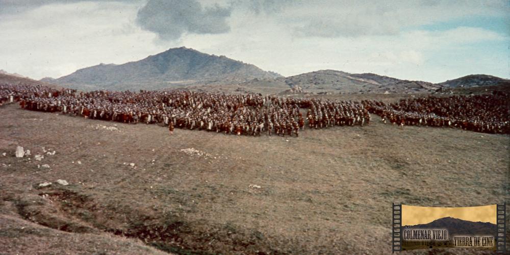 La Dehesa de Navalvillar de Colmenar Viejo en Espartaco de Stanley Kubrick