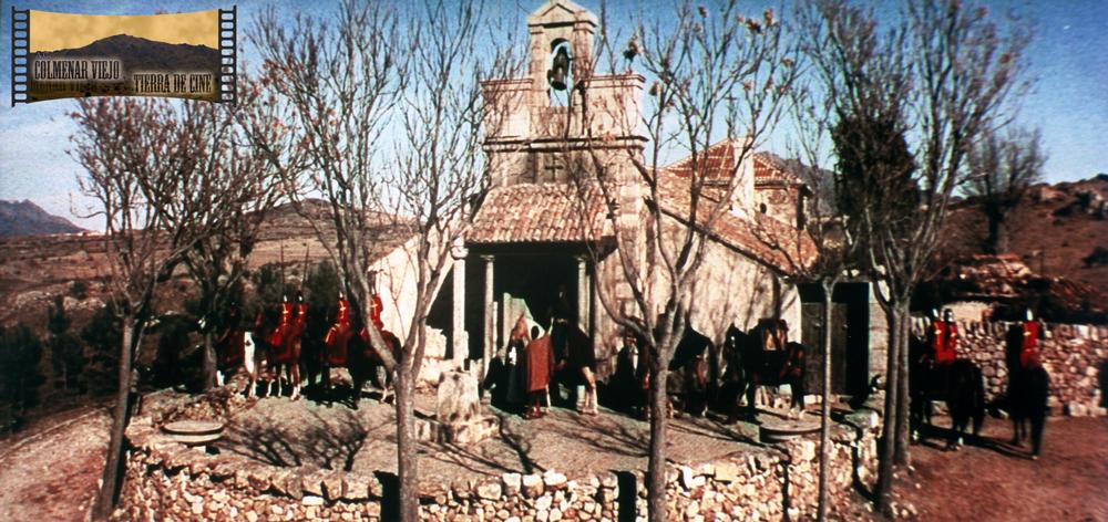La Ermita de Nuestra Señora de los Remedios de Colmenar Viejo en El Cid de Anthony Mann