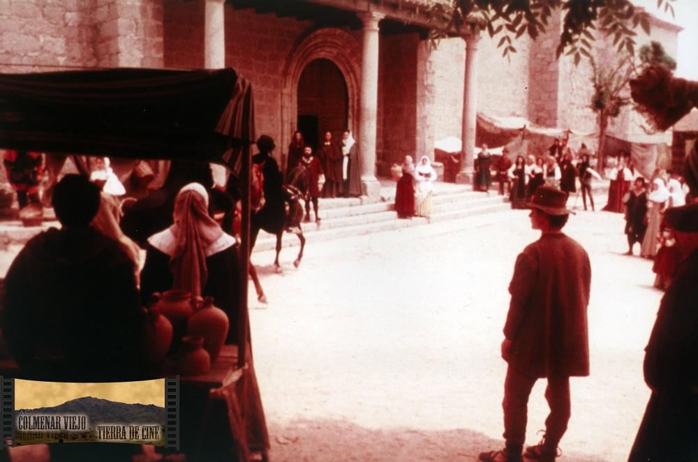 La Plaza de Luis Gutiérrez de Colmenar Viejo en Inquisición de Paul Naschy
