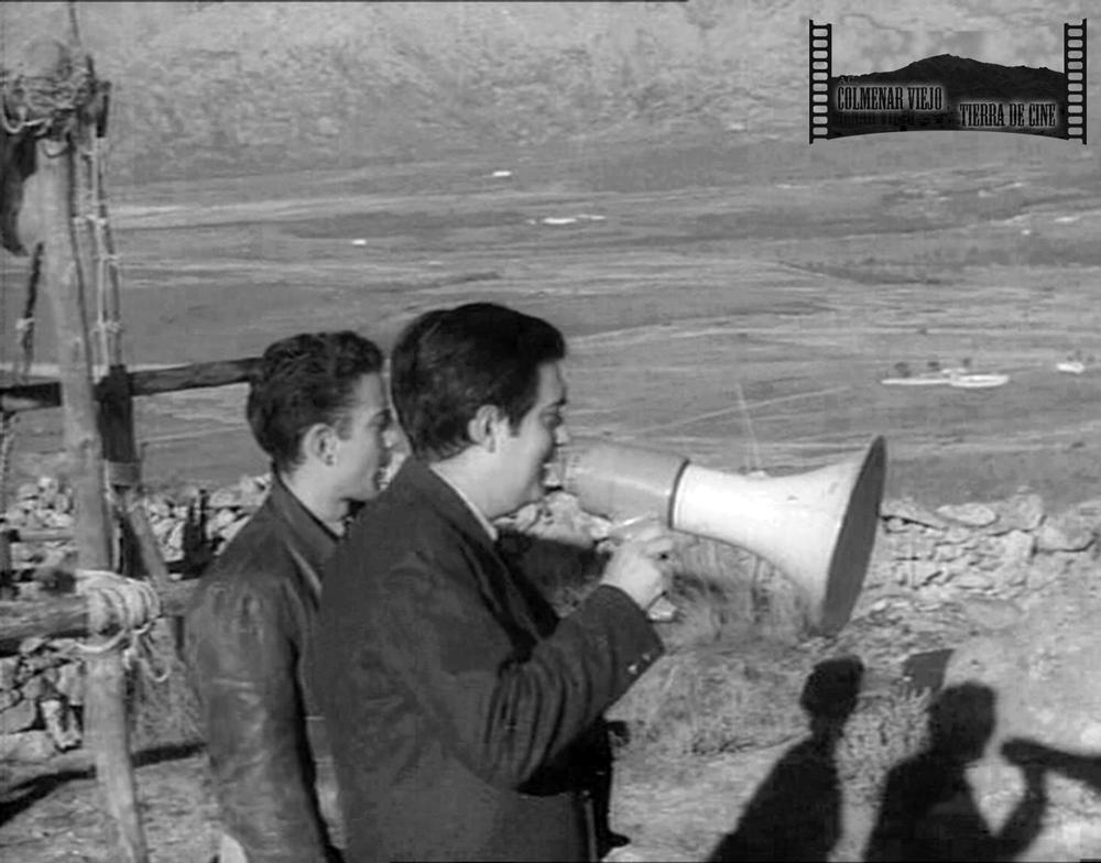 Stanley Kubrick dirige el rodaje de Espartaco en Colmenar Viejo