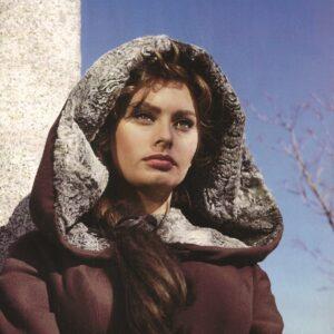 Sophia Loren. The Cid. Ermita de Nuestra Señora de los Remedios. Colmenar Viejo (Madrid)